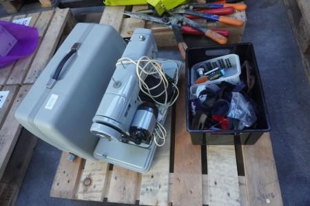 Symaskine med lynlåse, mærke: Chridamo, model: Type /