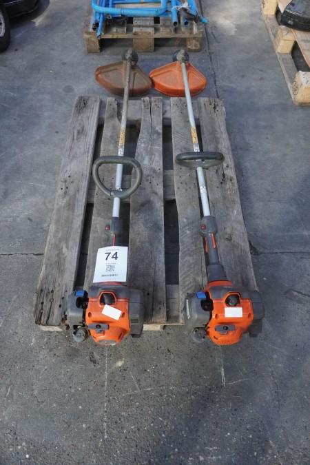 2 stk. græstrimmere, mærke: Husqvarna, model 129L
