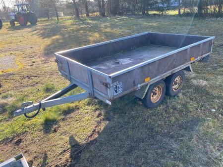 KVIK trailer, model: 750. Tidligere regnr.: NC9952