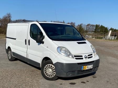 Varebil, mærke: Nissan, model: Primastar 2,0 Dci. Registrering nummer: BE96120