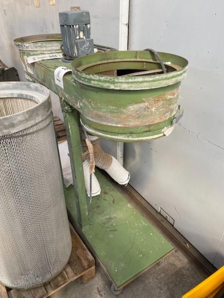 Filteranlæg til udsugningssystem, mærke: Gram