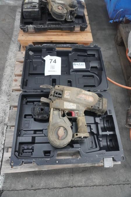 Bindemaskine, mærke MAX, model: RB650A