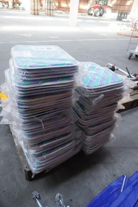 80 stk. siddehynder til havemøbler