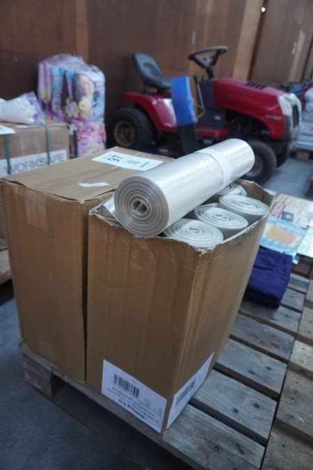 16 ruller containersække