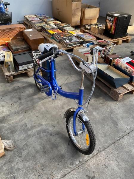 El cykel med batteri