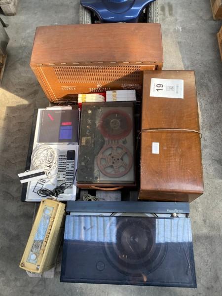 Retro stereo anlæg, mærke: Bang & Olufsen