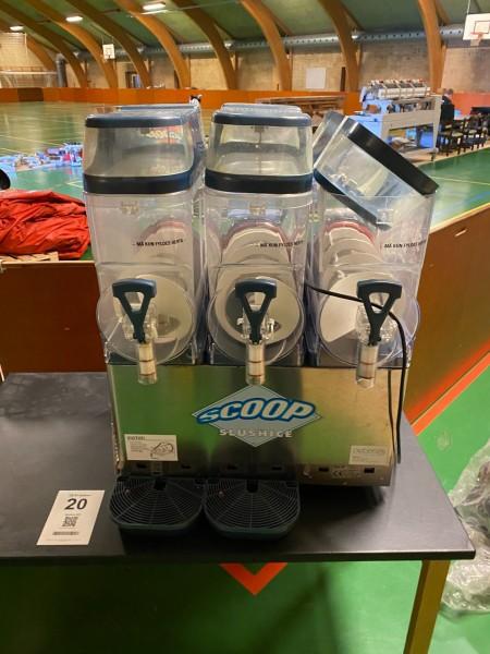Slush ice maskine, Model: Granitime 3