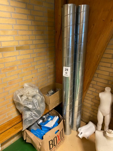 Diverse ventilationsrør