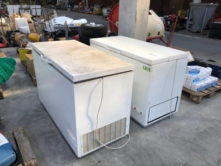2 stk. kummefrysere, mærke: Atlas & Electrolux