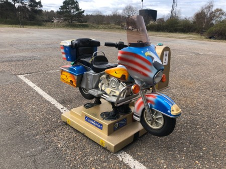 Vippedyr, model: motorcykel