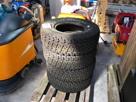 4 stk. offroad/All terrain dæk, mærke: Silverstone