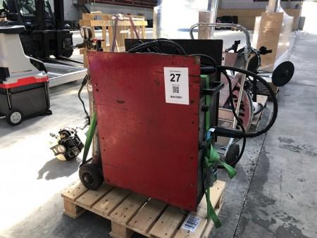 CO2-svejser, mærke: ESAB, model: Power Compact 250