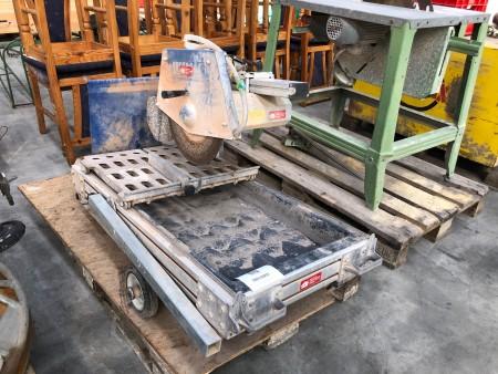 Stenskæremaskine, mærke: LISSMAC