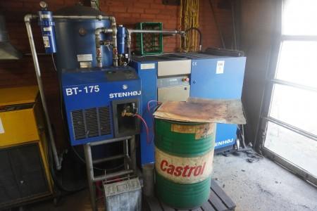 Schraubenkompressor, Marke: Stenhøj, Modell: Sp2001