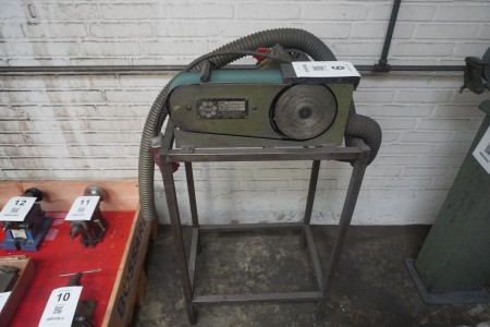 Belt sander, Brand: HM, Model: TJC-75