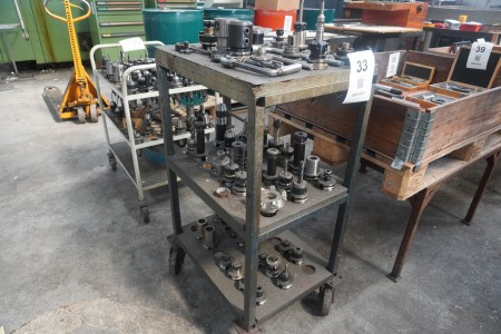 Trolley with tool holders