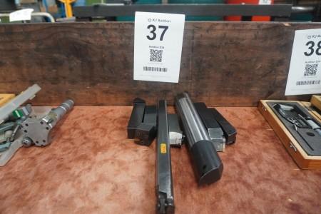 7 pcs. Steel holders
