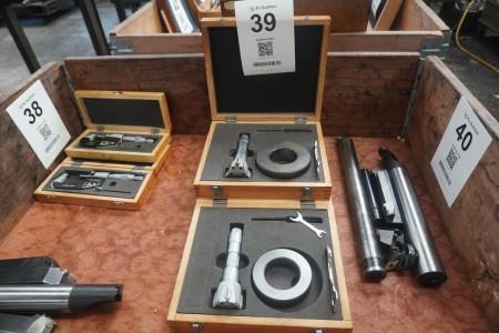 2 pcs. inner 3-point micrometer, Brand: Diesella