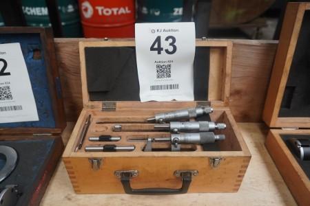 Set with external micrometer, Brand: Diesella