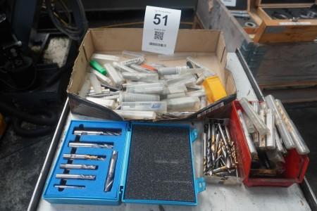 Batch Cutting tools.