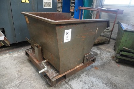 Tilting container