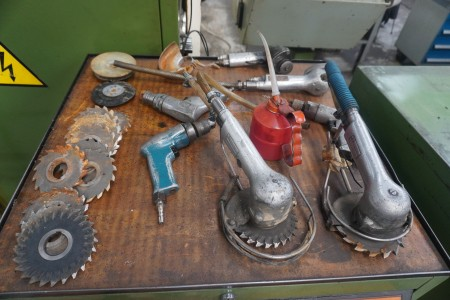 Lot of air tools & cutter