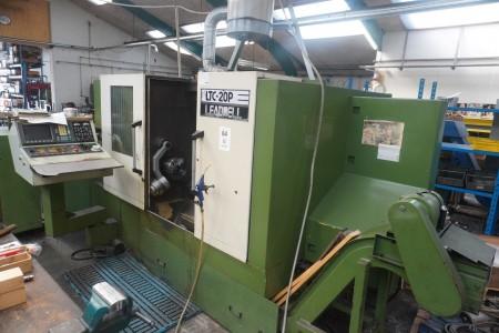 CNC controlled lathe, Brand: Leadwell, Model: LTC-20p