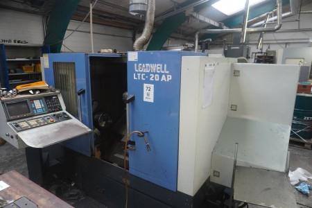 CNC controlled lathe, Brand: Leadwell, Model: LTC - 20 AP