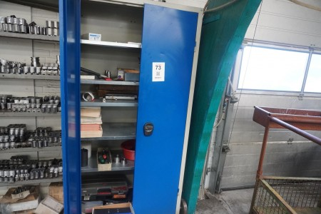 Tool cabinet, Brand: Blika with content