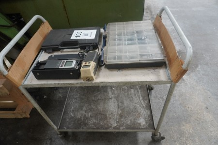 Trolley with contents