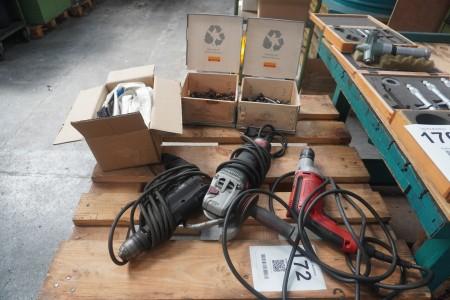 3 power tools