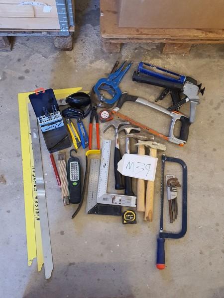 Wurth taske med håndværktøj