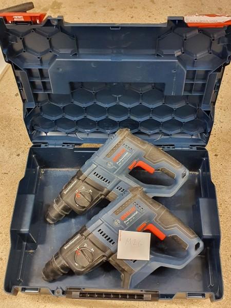2 stk. Betonhammer, Mærke: Bosch, Model: GBH 18V-20