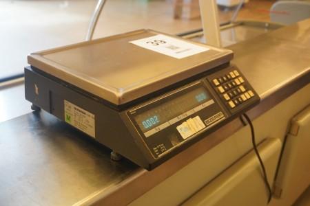 Digitalvægt, Mærke: Bizerba, Model: EW100