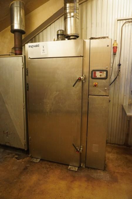 Smoke oven, Brand: Ingvald, Model: Mic 1200
