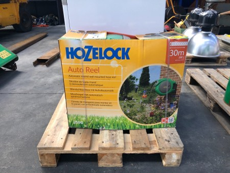 Vandslange oprul, mærke: Hozelock, model: Auto reel