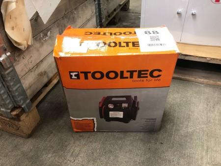 Startbooster med luftkompressor, mærke: Tooltec