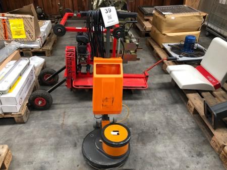 Gulv-poleringsmaskine, mærke: Taski, model: 42