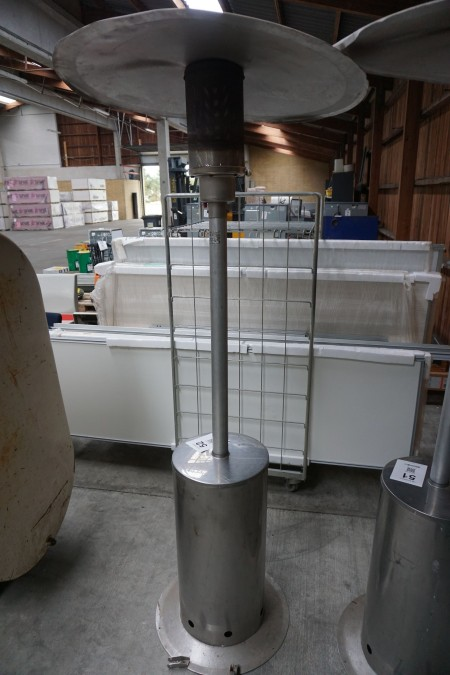Terassevarmer til gas