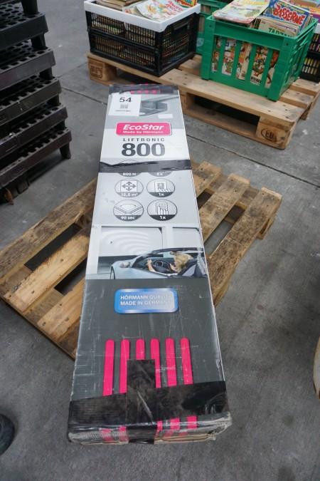 Garageport åbner, mærke: Hörmann, model: Liftronic 800