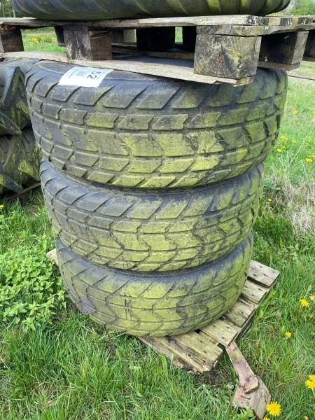 3 stk. dæk