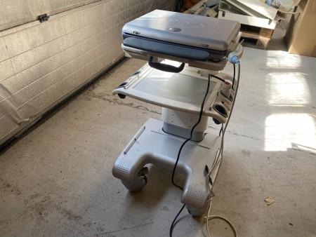 Bærbar ultralyds scanner, mærke: GE, model: Vivid i