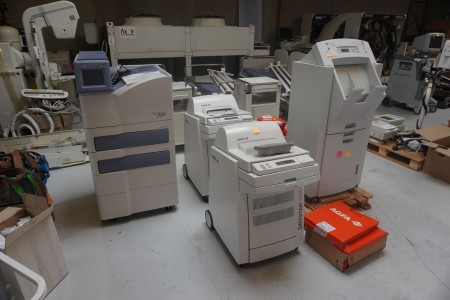 CR/ Mediko printere, Mærke: AGFA, Sony & Konica Minolta