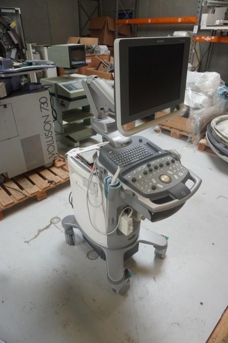 Ultralyds scanner, mærke: Siemens, model: ACUSON X300
