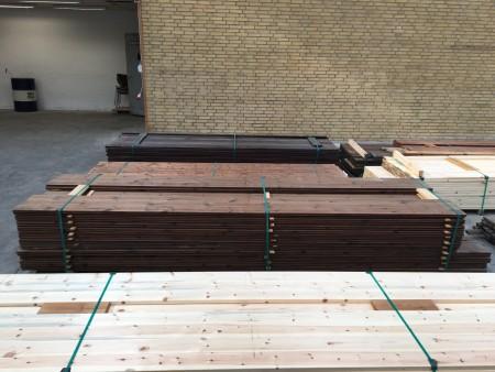 Facade cladding thermo-treated, brand: Saga Wood