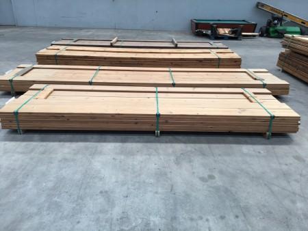 Terrasse thermobehandelte Kiefer, Marke: Saga Wood