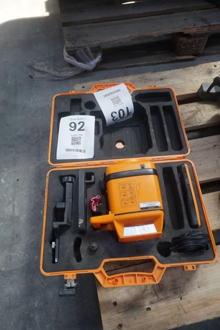 Rotationslaser, Marke: Laser-Prof, Modell: FL 200 A.