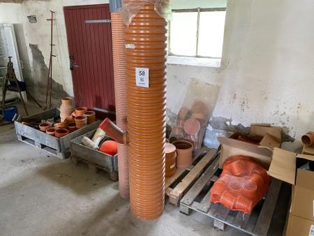 Stort parti kloakmateriale