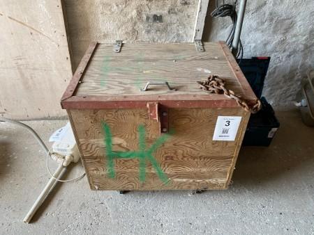 Værktøjskasse inkl. tom værktøjskasse