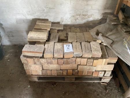 Ca. 160 stk. ildfaste mursten